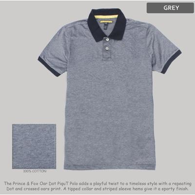 Grey Piqe