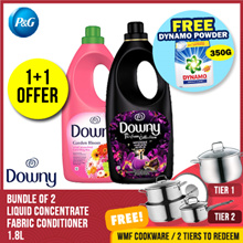 [Downy] 1+1 OFFER! 1st 100qty only! Liquid Concentrate Fabric Conditioner 1.8L