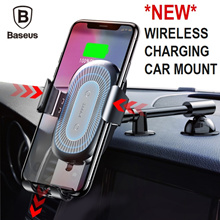 ★Baseus Wireless Charging Car Mount Holder / Air Vent Mount / Quick Charge 3.0 Car Charger★