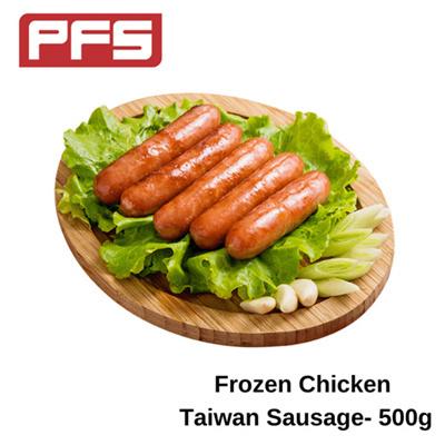 Frozen Chicken Taiwan Sausage - 500g/pkt