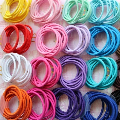 Women's Accessories Clothing, Shoes & Accessories Small Hair Bobbles Elastics Snag Free Endless Girls Bands Ponytail High Quality And Inexpensive