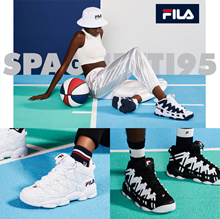 [FILA] SPAGHETTI 95 FS 1 HTA 1012 (game point) Sneakers 5 type