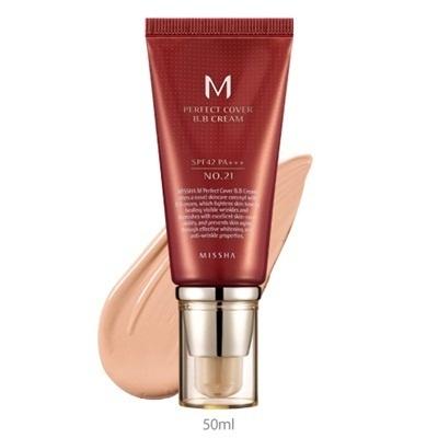 bb cream missha 21 : Missha M Perfect Cover BB Cream #21 SPF42 / PA+++ 20ml Dr. Brandt Glow Overnight Resurfacing Serum 1.7 oz