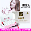 Gluta August (Gluta Acerola Cherry) - GLUTA LUCIA ORIGINAL BY WELL LIFE CLINIC - ORIGINAL WAJIB BERHOLOGRAM RESMI AUGUST GOLD