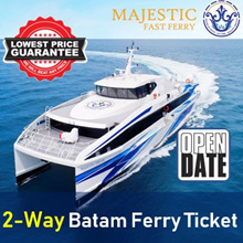 ★OPEN DATED★ SG-Batam 2way Ferry Tickets / Open Dated / Habour Front-Batam Centre