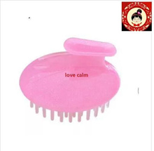 Japan imported shampoo hair brush scrub head artifact brain scalp massage brush clean comb alopecia