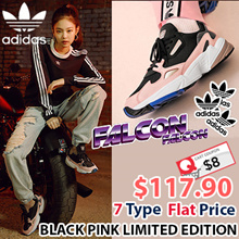 [ADIDAS ORIGINALS] ♥Use Qoo10 Coupon $8♥ FALCON X BLACKPINK♥ 7 Type Couple Sneakes / ♥Qoo10 Exclusive Limited Edition♥