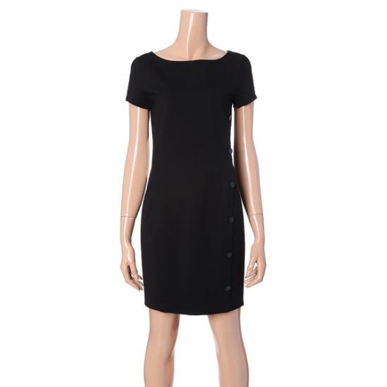 アルマーニエクスチェンジ女性ボタンスリムワンピース1427321507 面ワンピース/ 韓国ファッション