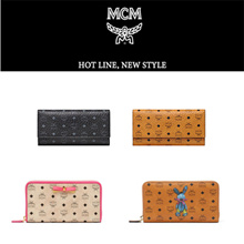 ★【MCM】★100%AUTHENTIC★【EMS FREE】★WALLET 40 STYLE COLLECTIONS ★