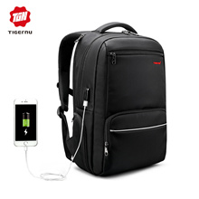 Tigernu Tiger No 2017 Newest USB Charging Backpack / Laptop Bags / Smart Bags / Backpacks / Student Bags / Business Bags / 15.6 Inch / Bag