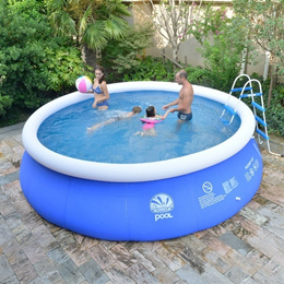 Super large family network folder inflatable swimming pool