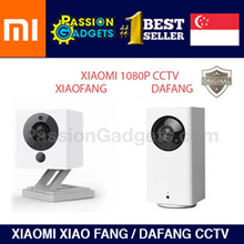 FREE GIFT! XIAOMi Mijia XiaoFang DaFang Smart IP Camera  Baby Monitor CCTV / Night Vision 1080P