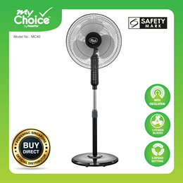 My Choice -PowerPac 16 inch Stand Fan with Oscillation (MC40)