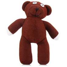 Mr Bean Teddy Bear Figure 22cm 3D Model Plush Toy Animals Stuffed Doll