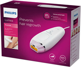 Brand New Philips Lumea Essential IPL BRI863/00 For Face  Body Hair Removal