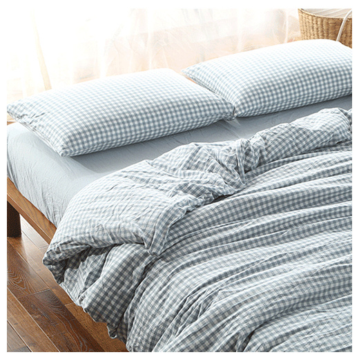 Qoo10 Muji Style Cotton 4 Bed Sheet Set Includes Quilt Cover Bedsheet Co Household Bedd