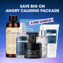 Free pouch [KLAIRS] Angry Skin Calming Package/ klairs toner vitamin drop serum cream blue cream