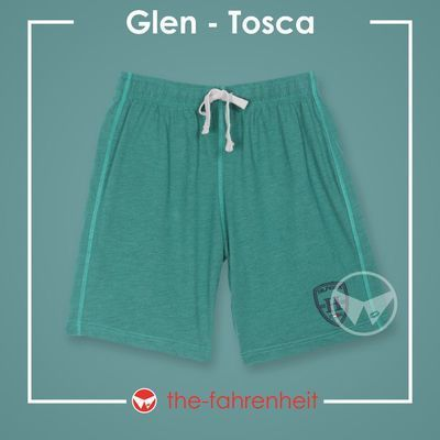 Glen Comfy Tie-Waist Shorts For ManTosca