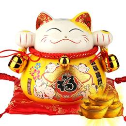 [FINAL STOCK SALE] Royal Lucky Cat(皇家贵族猫)/ LUCKY CAT 億萬兩招财猫 /Wave Hand Lucky Cat(摇手招财猫)
