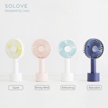Wireless Rechargeable Mini Fan◼️2500mAh Battery◼️13hours 3 Level Strong Wind Desk Travel USB