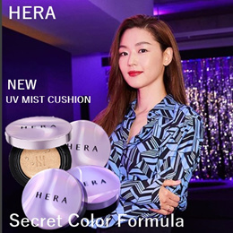 ★HERA★2018 NEW UV Mist Cushion / ULTRA MOISTURE Cushion / Black Cushion /TT
