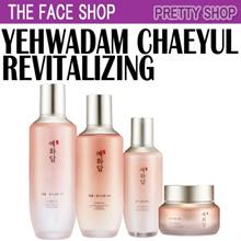 ★The Face Shop★[생기순환] Yehwadam CHAEYUL Revitalizing Toner Emulsion Essence Cream