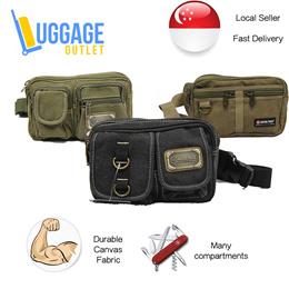 Canvas Waist pouch Multipurpose Waistbag Waistpack Belt bag Fanny pack Heavy Duty