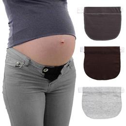 29585a8d4c Maternity pregnancy belt adjustable elastic waist extender clothing pants