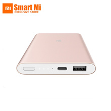 New Original Xiaomi Power Bank 10000mAh Pro Quick Charger USB Type C Ultra Slim Battery Powerbank Fo