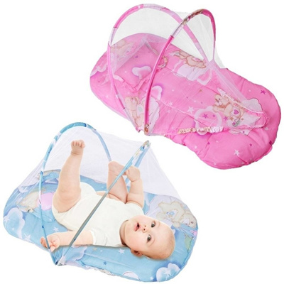 c7895d707 New Foldable Baby Cotton Padded Mattress Pillow Warm Bed Mosquito Net Crib  Tent