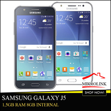[2015] Samsung Galaxy J5 8GB Internal - Garansi Resmi