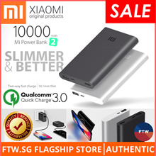 [USE $10 QOO10 COUPON!] Xiaomi 100% Authentic Baseus USAMS Wall Charger Wireless Charging Power Bank