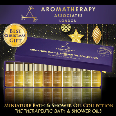 Best Gift Set! SEPHORA U.P.$101 Aromatherapy Associates Miniature Bath and Shower Oil Collection 10 x 0.1oz 10 x 3ml Deals for only S$52 instead of S$0