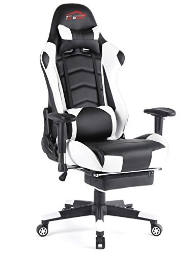 Top Gamer Ergonomic Gaming Chair PC Game Computer Office Chair with Footrest  sc 1 st  Qoo10 & Qoo10 - Top Gamer Ergonomic Gaming Chair PC Game Computer Office ...