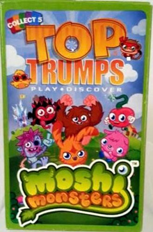 [USA Shipping] Top Trumps Moshi Monsters - Card Game - Playing Cards