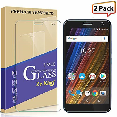 ▶$1 Shop Coupon◀ [2-Pack] Alcatel Tetra 5041C (2018) Screen Protector  Tempered Glass, Zeking 0 33mm