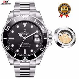 00617d69a85  100% Genuine  Popular TEVISE Mens Sport Automatic Mechanical Watch Men Top  Brand Luxury