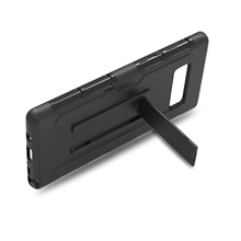For Samsung Galaxy Note 8 Case Armor Hybrid 3 in 1 Belt Clip Stand Rugged Silicone Cover