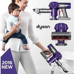 [dyson] dyson V6 Baby Child HEPA Handheld Vacuum  Cordless/Powered by Dyson digital motor V6 /2 Tier Radial cyclones /Up to 20 minutes of powerful suction /