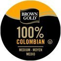 [USA Shipping] BROWN S GOLD 100% COLOMBIAN COFFEE 96 K CUPS