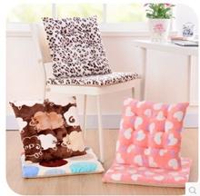 1 Thick high-grade super soft flannel fashion chair dining chair cushion sofa cushions skid pad