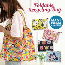 FOLDABLE RECYCLING BAG ♻200 DESIGNS! ♻ GOOD QUALITY♻WATER RESISTANCE♻SAVE THE EARTH♻