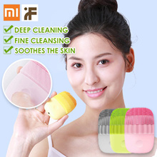 Xiaomi inFace Electric Deep Facial Cleaning Massage Brush Sonic Face Washing IPX7 Waterproof Silicon