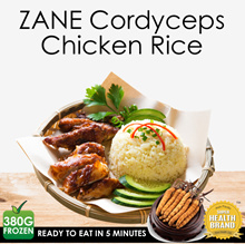 🌿 Cordyceps Chicken Rice 🌿 Ready To Eat in 6 minutes | Boost Immunity