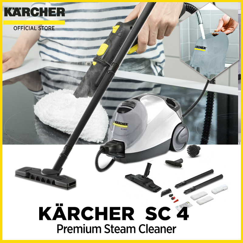 KARCHERKÄRCHER SC 4 Premium Steam Cleaner with warranty Available in White  or Yellow