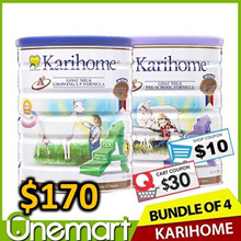 [KARIHOME] 900g Goat Milk Powder ★ From New Zealand ★ for Kids 12m+ or 3yo+
