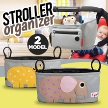 STROLLER ORGANIZER TAS PENYIMPANAN BAYI/ANAK POUCH 3sprouts lookalike / Skiphop