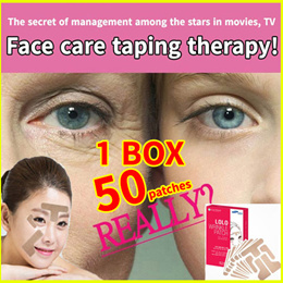 1BOX=10pcs/wrinkle face elasticity patch wrinkle eye wrinkle/diet patch/taping patch