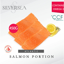 [Silversea] Atlantic Salmon Portion 450g / Healthier Choice and Tasty Singapore Certified!