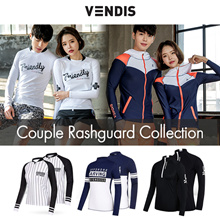 ★Vendis Couple Rashguard collection★/ Swim wear /Beach Wear/Swimming wear/Swim suit / surfing